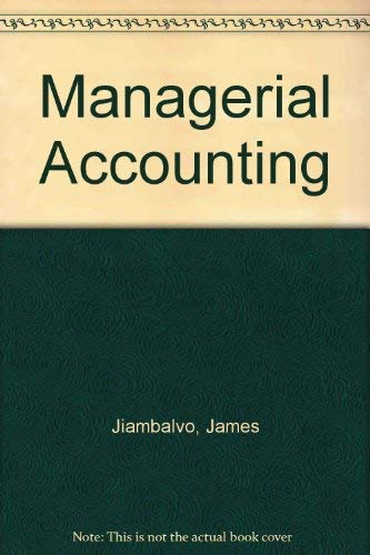 9780471283492: Study Guide for Managerial Accounting