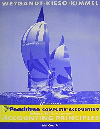 9780471283706: Peachtree Complete Accounting Release 2002 to accompany Accounting Principles, 6E
