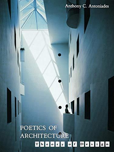 9780471285304: Poetics of Architecture: Theory of Design