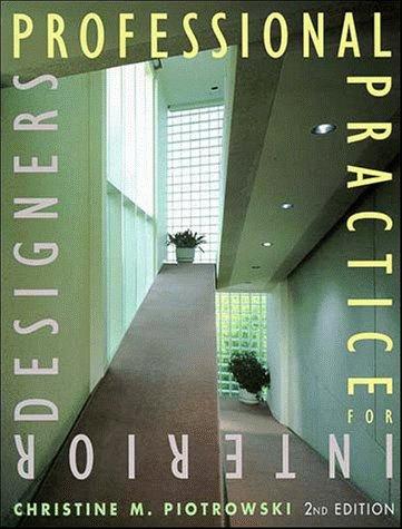 9780471285977: Professional Practice for Interior Designers