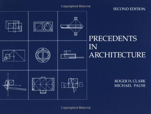 9780471287032: Precedents in Architecture