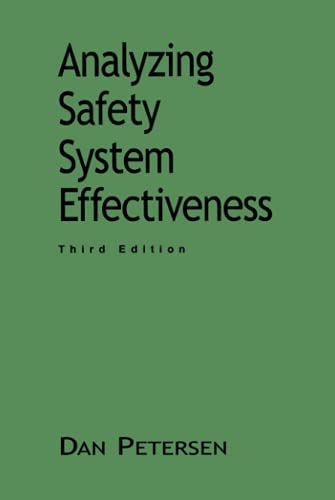 9780471287391: Analyzing Safety System Effectiveness (Industrial Health & Safety)