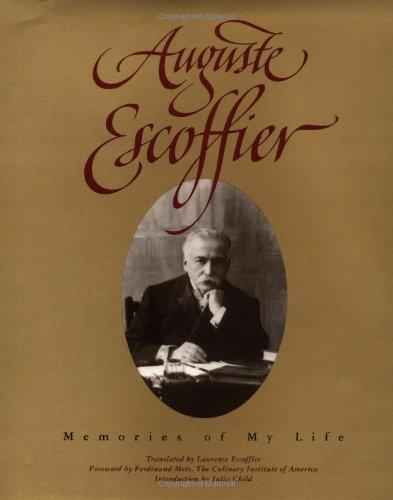 9780471288039: Auguste Escoffier: Memories of My Life