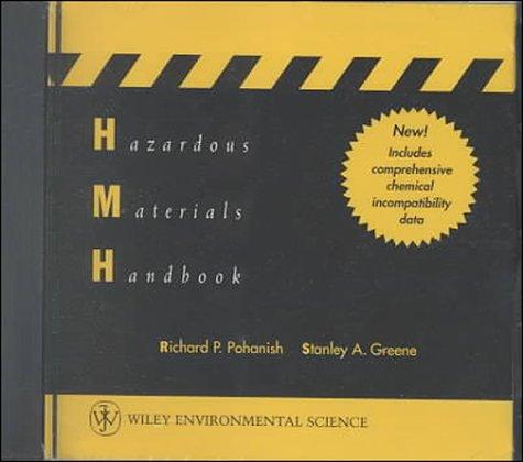 9780471288183: Hazardous Materials Handbook, Network Version