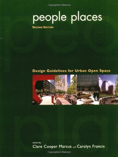 9780471288336: People Places: Design Guidelines for Urban Open Space