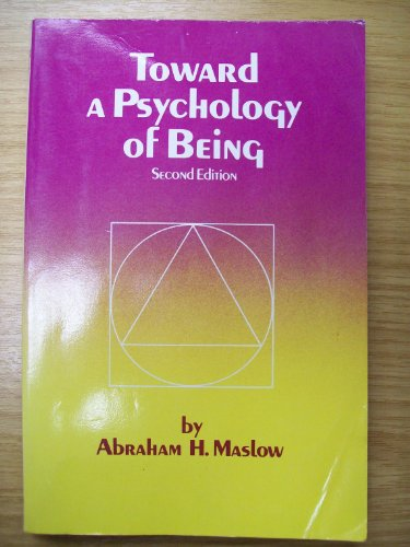 9780471288510: Toward a Psychology of Being