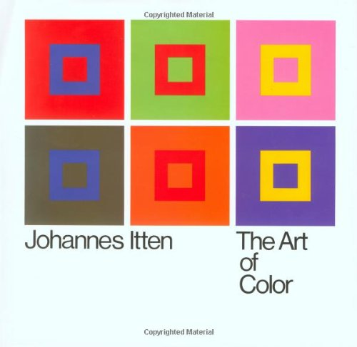 9780471289289: The Art of Color: The Subjective Experience and Objective Rationale of Color.