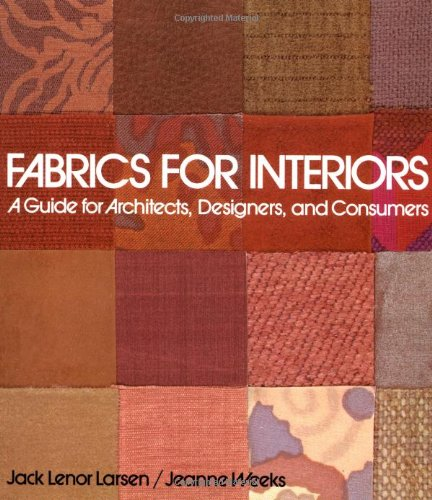 9780471289333: Fabrics for Interiors: A Guide for Architects, Designers, and Consumers