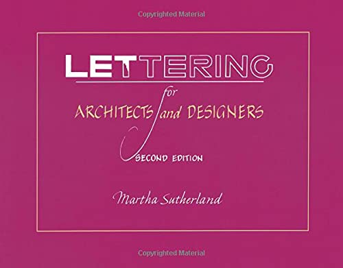 9780471289555: Lettering for Architects and Designers, 2nd Edition