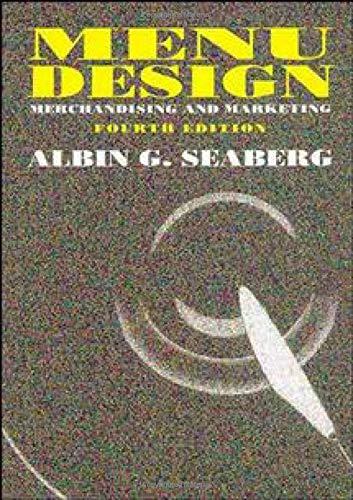 9780471289838: Menu Design: Merchandising and Marketing