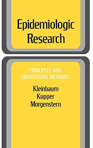 9780471289852: Epidemiologic Research: Principles and Quantitative Methods (Industrial Health & Safety)