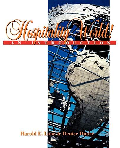 9780471289890: Hospitality World!: An Introduction (Hospitality, Travel & Tourism)