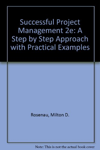 9780471290322: Successful Project Management: A Step by Step Approach with Practical Examples