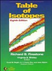 9780471290919: 2 Volume Set, Table of Isotopes, 8th Edition