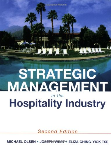 9780471292395: Strategic Management in the Hospitality Industry, 2nd Edition
