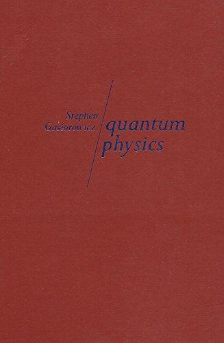 QUANTUM PHYSICS GASIOROWICZ PDF