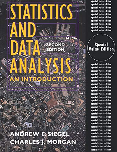 9780471293323: Statistics and Data Analysis: An Introduction