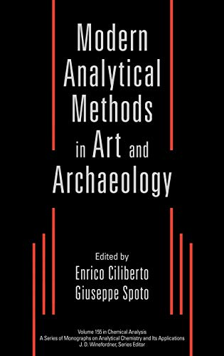 9780471293613: Modern Analytical Methods in Art and Archaeology