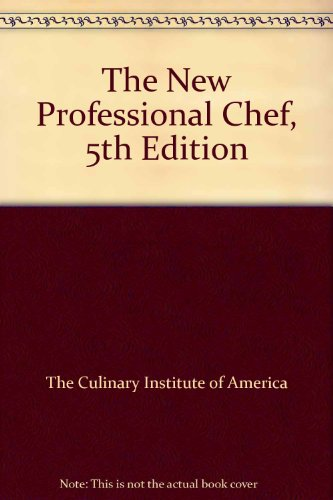 9780471293675: The New Professional Chef, 5th Edition