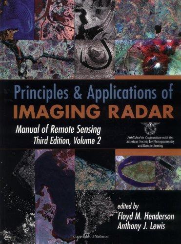 9780471294061: Principles and Applications of Imaging Radar (Manual of Remote Sensing, Volume 2)