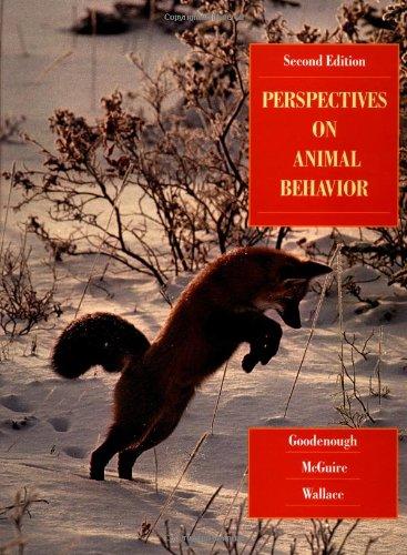 9780471295020: Perspectives on Animal Behavior