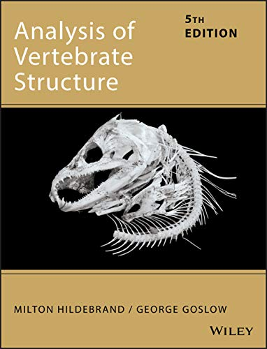 9780471295051: Analysis of Vertebrate Structure