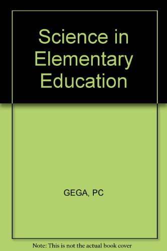 9780471295082: Science in Elementary Education