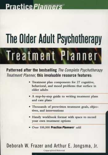 9780471295747: The Older Adult Psychotherapy Treatment Planner