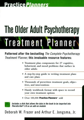 9780471295815: The Older Adult Psychotherapy Treatment Planner (PracticePlanners)