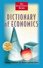 9780471295990: Dictionary of Economics (The Economist Books)