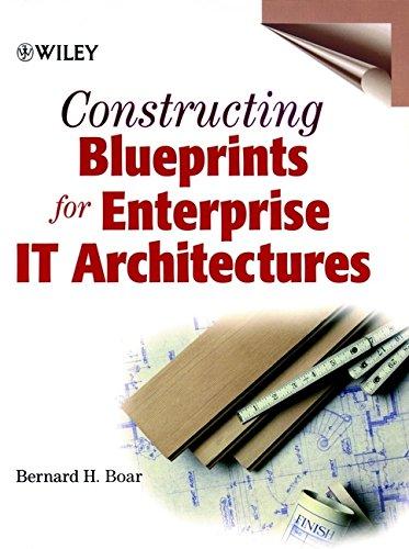 9780471296201: Constructing Blueprints for Enterprise IT Architectures