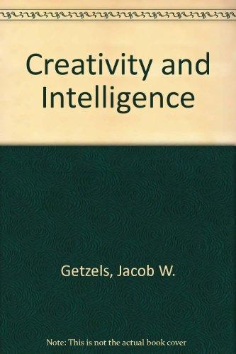 9780471297154: Creativity and Intelligence