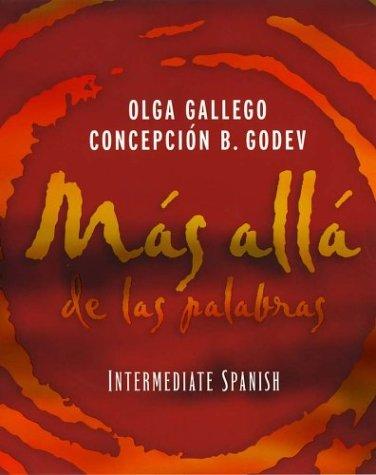 9780471297628: Mas alla de las palabras: Intermediate Spanish
