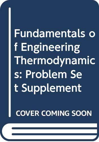 9780471298311: Fundamentals of Engineering Thermodynamics
