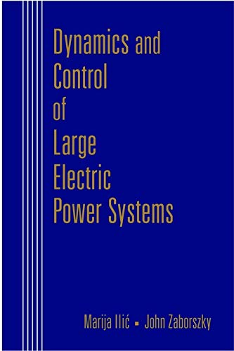 9780471298588: Dynamics and Control of Large Electric Power Systems