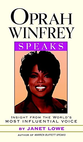 9780471298649: Oprah Winfrey Speaks: Insights from the World's Most Influential Voice