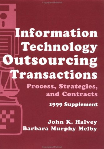 9780471298823: Information Technology Outsourcing Transactions: Process, Strategies, and Contracts