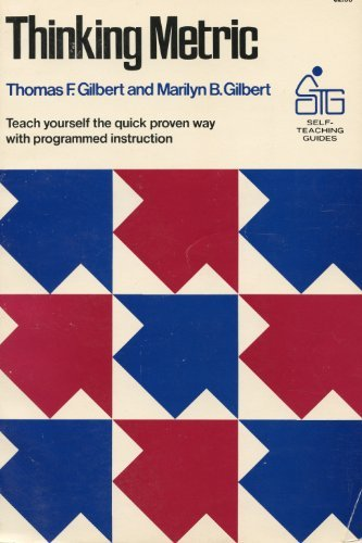 9780471299011: Thinking metric (Self-teaching Guides)