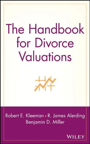 9780471299660: The Handbook for Divorce Valuations
