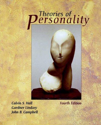 9780471303428: Personality 4e