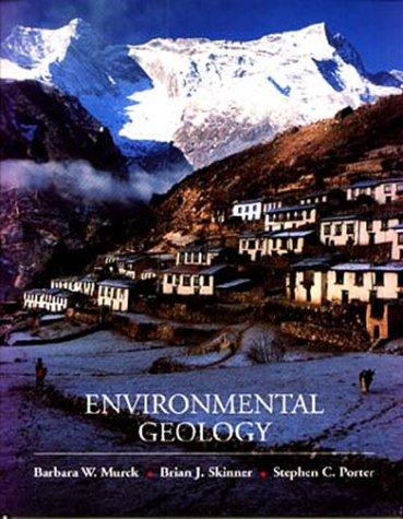 9780471303565: Environmental Geology