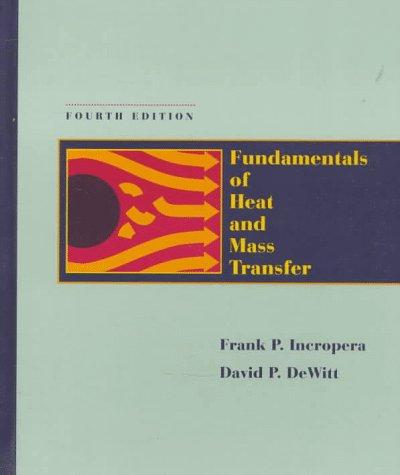 9780471304609: Fundamentals of Heat and Mass Transfer