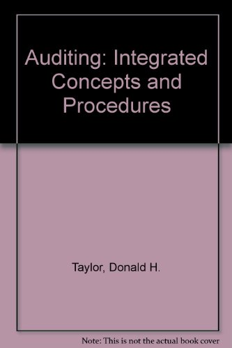 9780471305811: Auditing: Integrated Concepts and Procedures