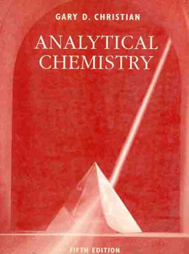 9780471305828: Analytical Chemistry