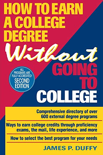 9780471307884: How to Earn a College Degree Without Going to College