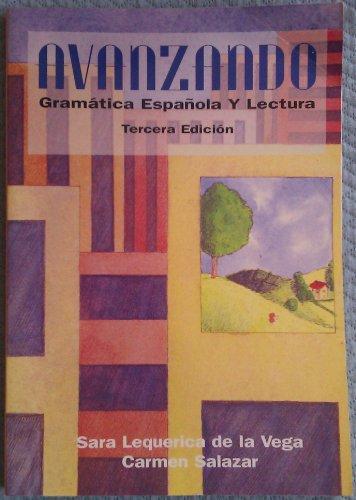 9780471308089: Avanzando: Gramatica Espanola y Lectura