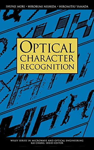 9780471308195: Optical Character Recognition