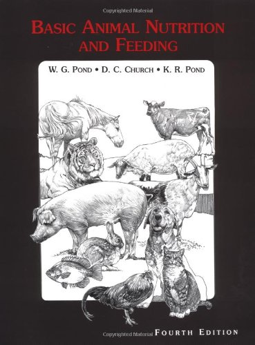 basic animal nutrition and feeding pond pdf
