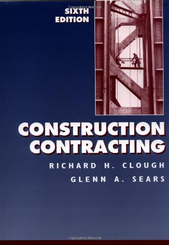 9780471309680: Construction Contracting, 6th Edition