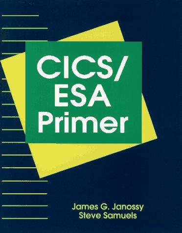 9780471309918: CICS/ESA Primer